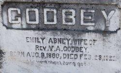 Emily Zerphina <I>Abney</I> Godbey