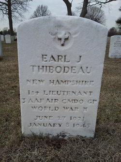 1LT Earl J Thibodeau