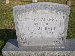 Ethel <I>Allred</I> Surratt