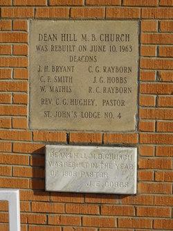 Dean Hill Baptist Church Cemetery