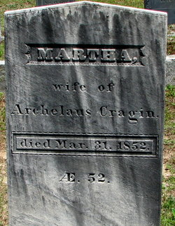 Martha <I>Hosley</I> Cragin