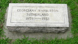 Georgiana W. <I>Warburton</I> Sutherland