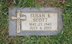 Susan Kathryn <I>Davis</I> Scott