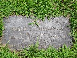 Maj Philip Edward Cummings