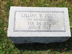 Lillian W <I>Longenecker</I> Felty