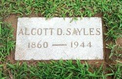 Alcott D Sayles
