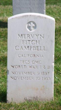 Mervyn Fitch Campbell
