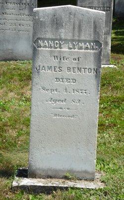 Nancy <I>Lyman</I> Benton
