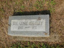 "Lugenie ""Virginie"" <I>Hardcastle</I> Highley"
