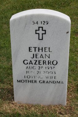 Ethel Jean <I>Barton</I> Gazerro