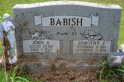 Dorothy Jane <I>Green</I> Babish