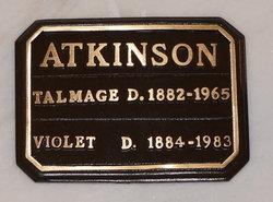 Violet <I>Dawson</I> Atkinson