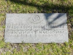 Margaret <I>Burke</I> Bennett