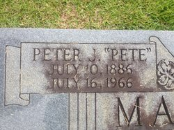 "Peter Joseph ""Pete"" Magin, Jr"