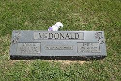 Eva Ann <I>Vestal</I> McDonald
