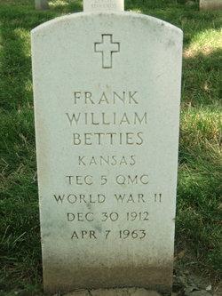 Frank William Betties
