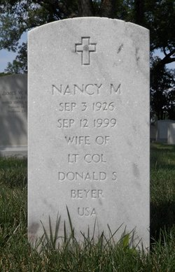Nancy Prew <I>McDonald</I> Beyer