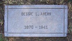 Mrs Bessie <I>Lane</I> Ahern