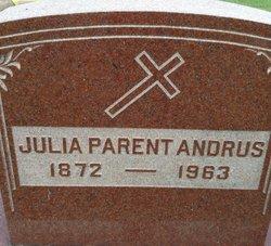 Julia A. <I>Parent</I> Andrus
