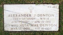 Alexander J Denton