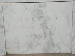 Dr Bartholomew Manlove Allen