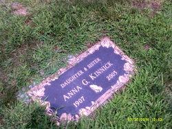 Anna <I>Gabor</I> Kinnick