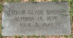 Frank Clyde Brown