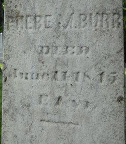 Phebe Maria Burr