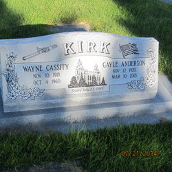 Wayne Cassity Kirk