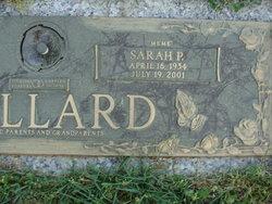 Sarah <I>Percival</I> Mallard