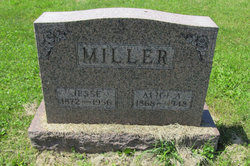 Alice A <I>Glaes</I> Miller