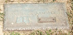 Annie Eliza <I>Kraft</I> Greer