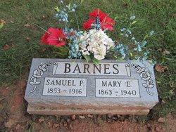 "Mary Elizabeth ""Lib"" <I>Scott</I> Barnes"