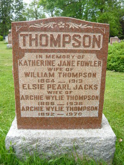 Katherine Jane <I>Fowler</I> Thompson