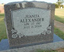 Juanita Alexander