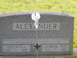 Raymond Pete Alexander