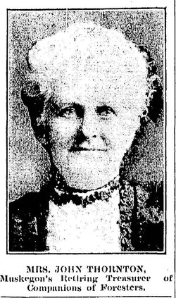 Mary Elizabeth <I>Milne</I> Thornton