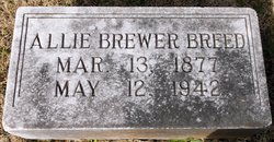 Allie <I>Brewer</I> Breed