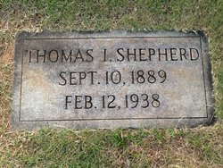 Thomas I. Shepherd
