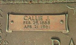 Callie Mae <I>Jackson</I> Barbour