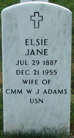 Elsie Jane <I>Adams</I> Adams
