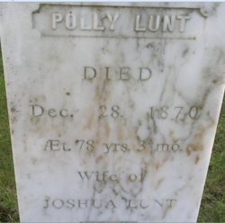 Polly <I>Emery</I> Lunt