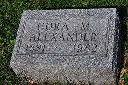 Cora M Alexander
