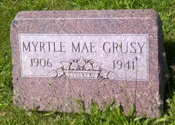 Myrtle Mae <I>Smith</I> Grusy
