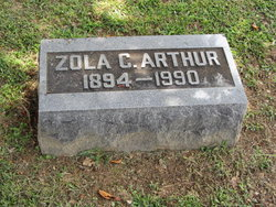 Mary Zola <I>Coffey</I> Arthur