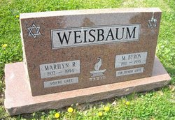 Marilyn <I>Rossiter</I> Weisbaum