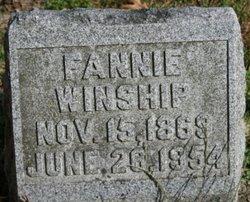 Fannie Winship