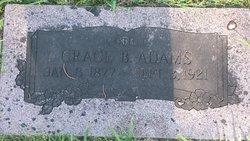 Grace B. <I>Drummond</I> Adams