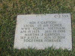 LTC Roy Frederick Garton