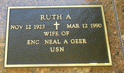 Ruth A Geer